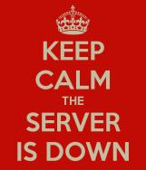 server down