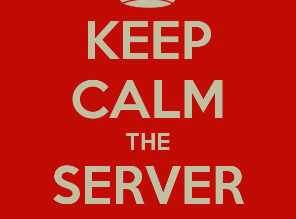keep-calm-the-server-is-down